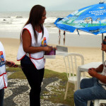 Secretaria da Saúde oferece testes rápidos de HIV e sífilis nas praias