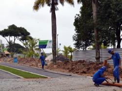Revitalização na orla de Caiobá vai até abril